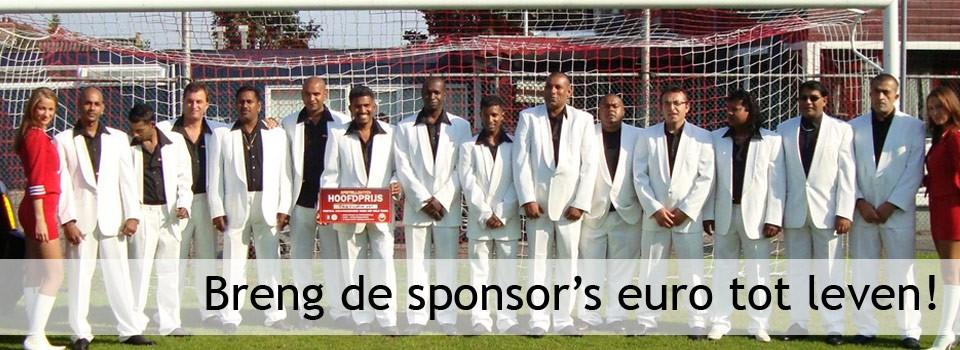 Breng de sponsor's euro tot leven